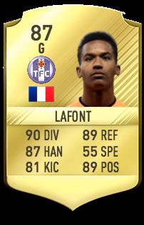 Alban Lafont Potentiel