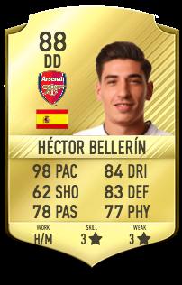 Héctor  Bellerín Potentiel
