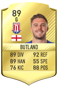 Jack Butland Potentiel